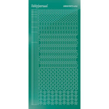 Find It Trading Hobbydots sticker style 16- Mirror - Christmas Green