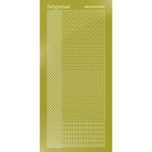 Find It Trading Hobbydots sticker style 4- Mirror - Yellow