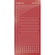 Find It Trading Hobbydots sticker style 16- Mirror - Christmas Red