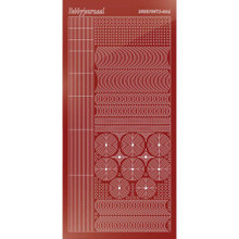 Find It Trading Hobbydots sticker style 6- Mirror - Red