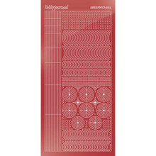 Find It Trading Hobbydots sticker style 6- Mirror - Christmas Red