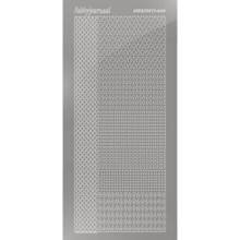 Find It Trading Hobbydots sticker style 4- Mirror - silver