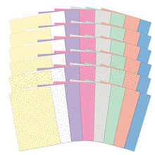 Hunkydory Adorable Scorable Shimer Selection Pack A4 Sheets 350gsm 48 Sheets Shimmer Foiled & Embossed