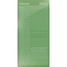 Find It Trading Hobbydots sticker style 11 - Mirror - Lime