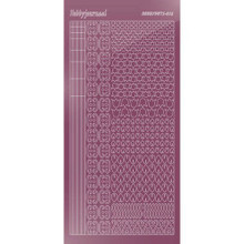 Find It Trading Hobbydots sticker style 12 - Mirror - Violet