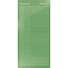 Find It Trading Hobbydots sticker style 12 - Mirror - Lime