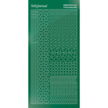 Find It Trading Hobbydots sticker style 11 - Mirror - Green