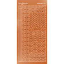 Find It Trading Hobbydots sticker style 12 - Mirror - Copper