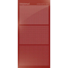 Find It Trading Hobbydots sticker style 7- Mirror - Red