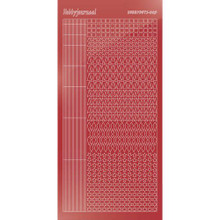 Find It Trading Hobbydots sticker style 9 - Mirror - Christmas Red