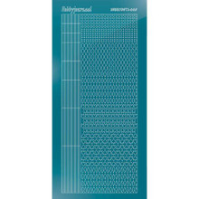 Find It Trading Hobbydots sticker style 5- Mirror - Turquoise