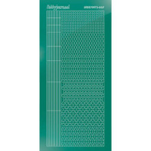 Find It Trading Hobbydots sticker style 5- Mirror - Christmas Green