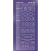 Find It Trading Hobbydots sticker style 5- Mirror - Purple