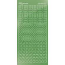 Find It Trading Hobbydots sticker style 8- Mirror - Lime