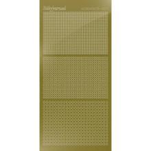 Find It Trading Hobbydots sticker style 7- Mirror - Gold
