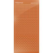 Find It Trading Hobbydots sticker style 8- Mirror - Copper