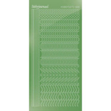 Find It Trading Hobbydots sticker style 20 - Mirror - Lime
