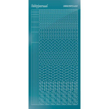 Find It Trading Hobbydots sticker style14 - Mirror - Turquoise
