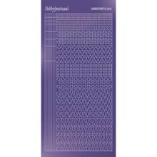 Find It Trading Hobbydots sticker style 13 - Mirror - Purple