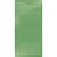 Find It Trading Hobbydots sticker style14 - Mirror - Lime