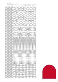 Find It Trading Hobbydots sticker style 4 - Red