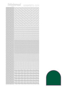 Find It Trading Hobbydots sticker style 4 - Green