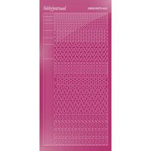 Find It Trading Hobbydots sticker style 13 - Mirror - Pink
