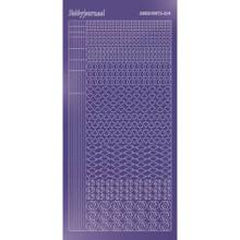 Find It Trading Hobbydots sticker style14 - Mirror - Purple