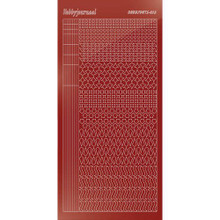 Find It Trading Hobbydots sticker style 13 - Mirror - Red