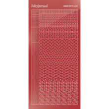 Find It Trading Hobbydots sticker style14 - Mirror - Christmas Red
