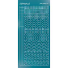 Find It Trading Hobbydots sticker style 13 - Mirror - Turquoise