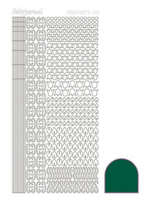 Find It Trading Hobbydots Sticker Style 12 - Green
