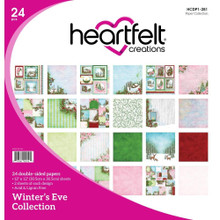 Heartfelt Creations Winter's Eve Double-Sided Paper Pad, 24 sheets - HCDP1-281