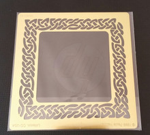 """Braided Frame Stencil XDAH-48  4"""" x 4"""""""