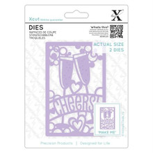 XCut Cheers Cutting Die Set XCU503093