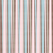 HOTP Brown-Pink Stripes 8x8 Papers 25-sheet Pack 30020