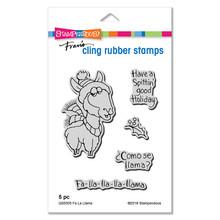 Stampendous Die and Stamp Set Bundle- Fa La Llama