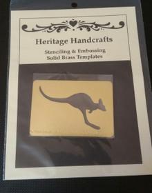 "Heritage Handcrafts Kangaroo Approx 1.5x2.5"""