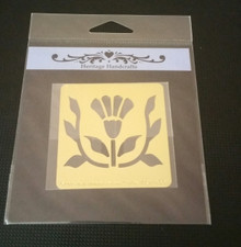 """Heritage Handcrafts FLOWER AND VINE Approx 2.5x2.5"""""""