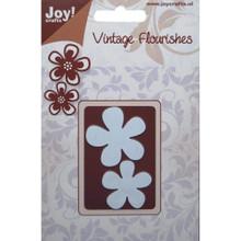 Joy! Craft Dies-Vintage Flourishes - Flowers