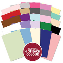 Hunkydory 100 A4 Sheets Flexi-Weight Adorable Scorable 210 GSM Megabuy AS723
