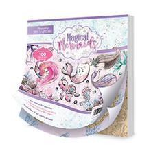 Hunkydory Magical Mermaids Mirri Magic Craft Stack Paper Pack MSTACK102