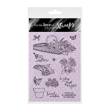 Hunkydory Crafts for The Love of Stamps - Bright & Beautiful FTLS300