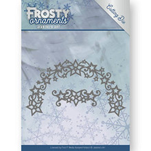 Jeanine's Art - Frosty Ornaments - Frosty Wreath Cutting Die JAD10048