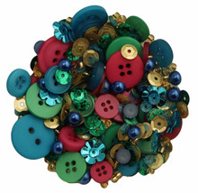 Buttons Galore Fiesta Scrapbook Embellishment Bottle