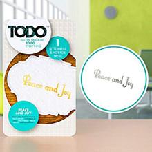 TODO Peace and Joy Letterpress & Hot Foil Press 140479