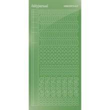 Find It Trading Hobbydots sticker - Mirror - Lime