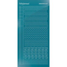 Find It Trading Hobbydots sticker - Mirror - Turquoise