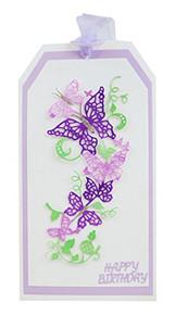 Tattered Lace Fanciful Flourishes Cherished, Silver, 436784