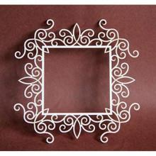 Filigranki Laser Cut Decorative Chipboards for Handicraft- Big Square Frame